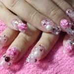 свадебный маникюр на натуральных ногтях