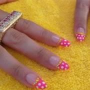 маникюр в домашних условиях узоры на ногтях