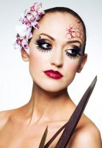 вечерний макияж для карих глаз в картинках