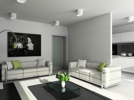 красивый интерьер гостинной комнаты фото