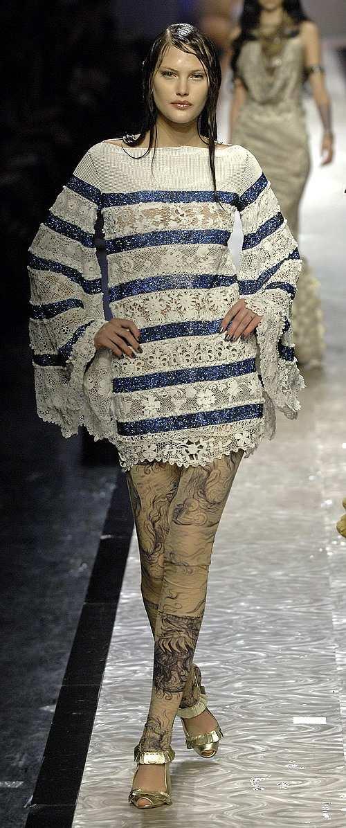 Вязаные мини платья 2011