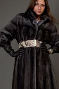 норковая шубка с воротником стойка зима 2017 2012