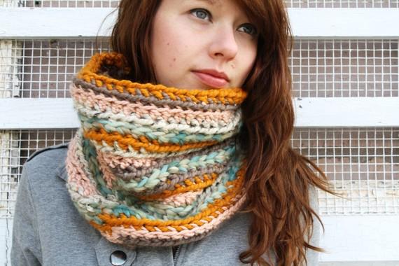 шарф труба как носить