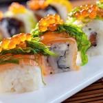 как жрать суши