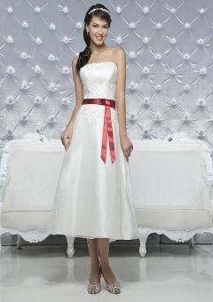 Короткие ретро свадебные платья