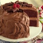 оформление шоколадных тортов 2015