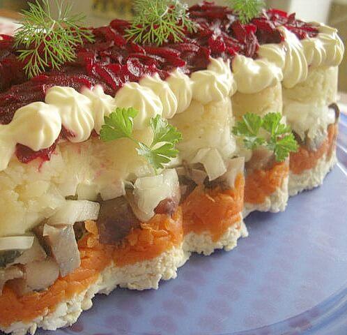 салаты легкие и вкусные рецепты с фото на день рождения