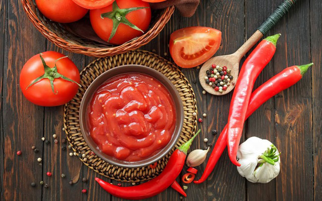 кабачки маринованные с кетчупом чили