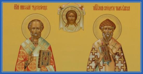 икона спиридона тримифунтсткого и св николая