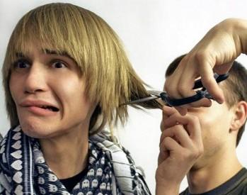 плохо подстригли