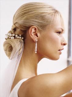 Свадебные прически фото на длинные волосы с фатой
