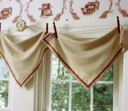готовые шторы своими руками